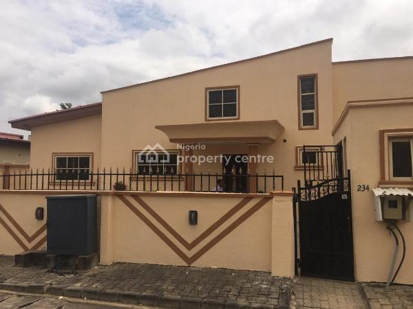 Nicely Built 4 Bedrooms Semi Detached House with a Room Boys Quater, Mayfair Garden Estate, Awoyaya, Ajah, Lagos, Detached Duplex for Rent
