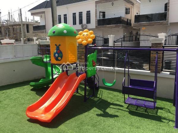 Lovely 4 Bedroom Semi-detached Duplex, Off Lekki Conservation Centre, Lekki, Lagos, Semi-detached Duplex for Rent