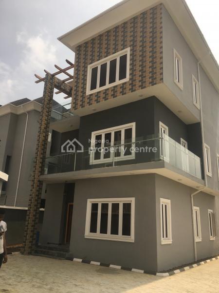 Lovely 4 Bedroom Duplex with Bq for Sale at Ikate Elegushi, Ilasan, Lekki, Lagos, Detached Duplex for Sale