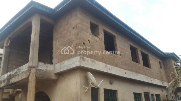 Nice Block of 4 Nos of Flat, Ajegunle By Iroko Town Alagbado, Abule Egba, Agege, Lagos, Flat for Sale