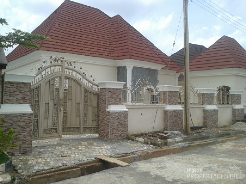 For sale luxury 3 bedroom bungalow with boys quarters for Houses in abuja nigeria
