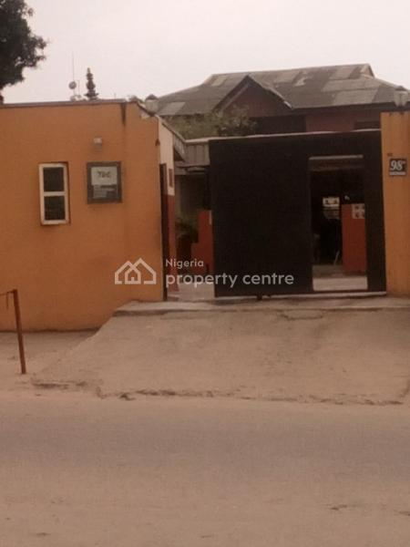 Commercial Bar+9rooms Bungalow on a Full Plot of Land with C.of.o on a Busy Road, Ojodu, Lagos, Restaurant / Bar for Sale