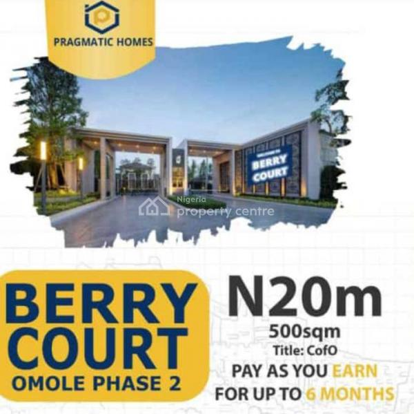 Berry Court, 5 Minutes Drive From Shoprite, Omole Phase 2, Ikeja, Lagos, Land for Sale