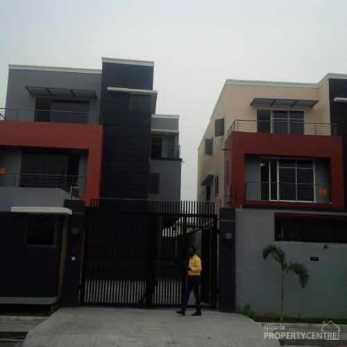 2 Units Of Luxury 5 Bedroom Detached Duplex With Swimming Pool , Lekki, Lagos, 5 Bedroom House For Sale