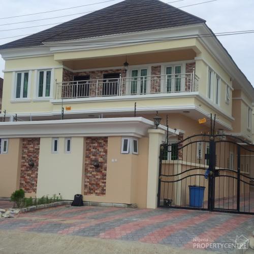 5 Bedroom Exquisitely Built Detached Duplex , Lekki, Lagos, 5 Bedroom House For Sale