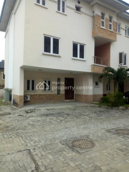Newly Built and Well Finished Most Luxurious Executive 4 Bedroom Terrace Duplex, Second Toll Gate Chevron, Lafiaji, Lekki, Lagos, Terraced Duplex for Rent