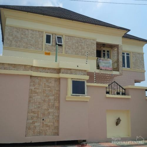 Newly Built 5 Bedroom Detached Duplex With Boys Quarters, Lekki, Lagos, 5 Bedroom House For Sale