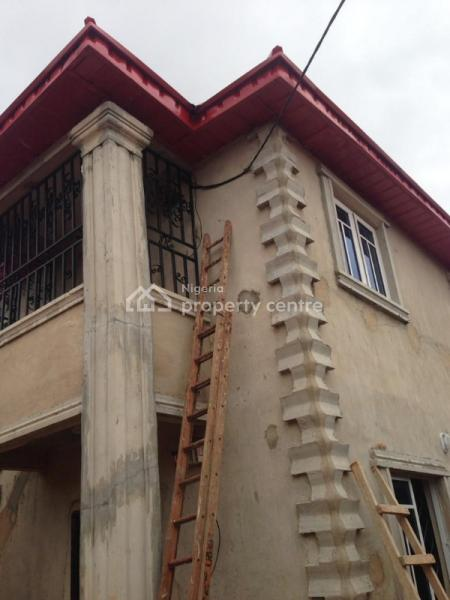 2 Flats Bungalow with New 4 Flats Room and Parlour, Gaius Idubor, Central Road, G.r.a, Benin, Oredo, Edo, Block of Flats for Sale