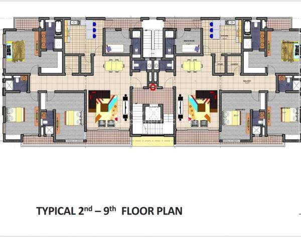 Luxury 3 Bedroom + Ensuite Maids Room (offplan), Olosa Street Opposite Eko Hotel, Victoria Island Extension, Victoria Island (vi), Lagos, Mini Flat for Sale