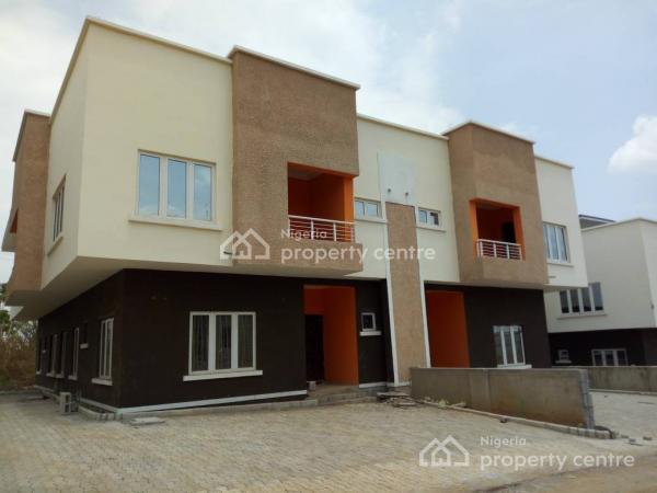 4 Bedroom Semi Detached Duplex with Bq, Paradise Estate, Phase 2, Life Camp, Gwarinpa, Abuja, Semi-detached Duplex for Sale