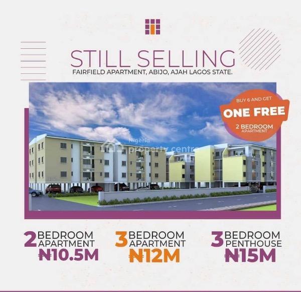 Affordable Luxurious Apartment 2 Bedroom, Abijo, Sangotedo, Ajah, Lagos, Flat for Sale