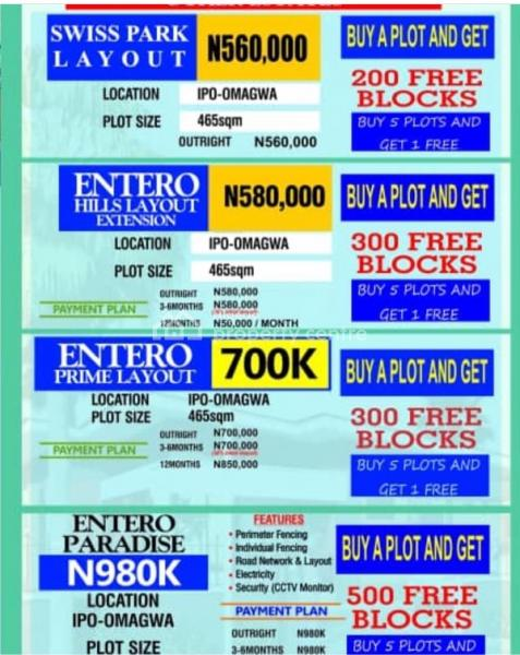 Land, Omagwa, Port Harcourt, Rivers, Residential Land for Sale
