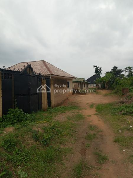 Uncompleted 2 Bedroom Bungalow with Enough Space to Build Another Structure, Odeku Street Oluyole Extension, Challenge, Ibadan, Oyo, Detached Bungalow for Sale