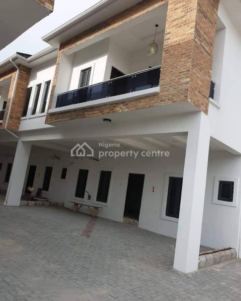 Newly Built Fully Serviced 4 Bedroom Terrace in Chevron, Chevron, Lekki, Lagos, Terraced Duplex for Sale