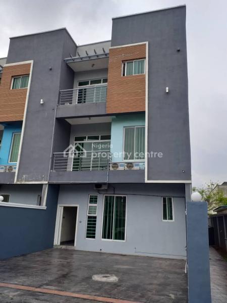 5 Bedroom Terrace Duplex with Bq & Swimming Pool, Sobo Arobiodun, Ikeja Gra, Ikeja, Lagos, Terraced Duplex for Rent