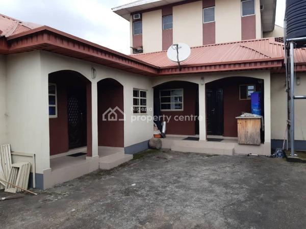 Block of 6 Nos 3 Bedroom Flat + a Bungalow of 2 Nos 2 Bedroom Flat, College Crescent, Ogba, Ikeja, Lagos, Block of Flats for Sale