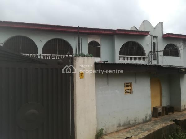 a Block of 4 Nos of 3 Bedroom Flat with C of O, 2 Toilets, Floor Tiles, Prepaid Meter, Concrete Floor Compound, Kitchen Cabinets, Wardrobes, an Estate Off Oyemekun, College Road,, Ogba, Ikeja, Lagos, Block of Flats for Sale