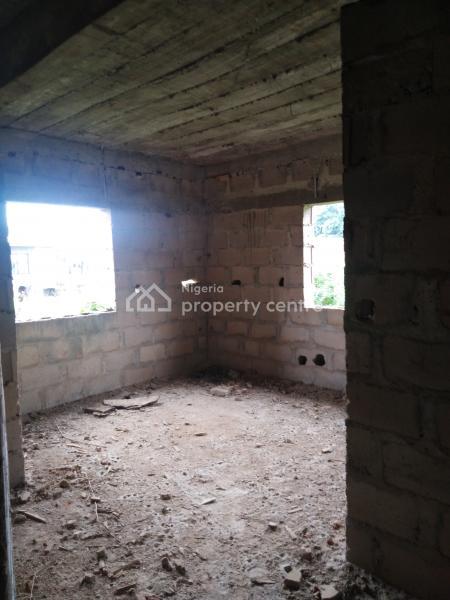 Uncompleted 2 Unit of 3 Bedroom Flat Till Decking Level, Selewu, Via Banjoko B/stop, Igbogbo, Ikorodu, Lagos, Block of Flats for Sale