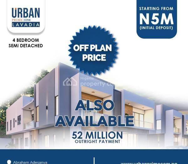 Beautifully Finished 4 Bedroom Semi-detached Duplex, Abraham Adesanya Road, Ogombo, Ajah, Lagos, Semi-detached Duplex for Sale