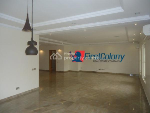Luxury 3 Bedroom Terraced Duplex with Excellent Facilities, Residential Zone, Banana Island, Ikoyi, Lagos, Terraced Duplex for Rent