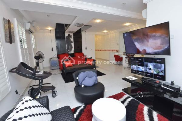 Contemporary 2 Units of Fully Furnished 4 Bedroom Semi Detached House with 1 Room Boys Quarters  Each, Igbo Efon, Lekki, Lagos, Semi-detached Duplex for Sale