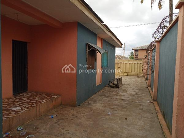 Bungalow Comprising of a 3 Bedroom Flat, a Room Bq and a 2 Bedroom Flat with 2 Shops in Front, Kwaru Way, Off Abaranje Road,, Ikotun, Lagos, Block of Flats for Sale