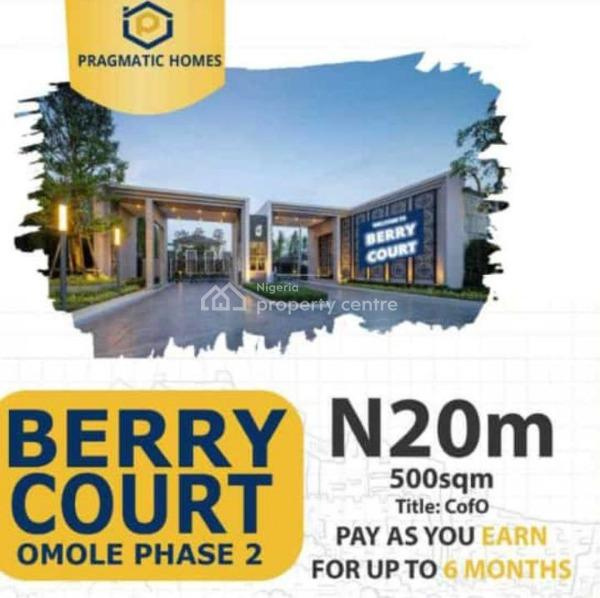 Berry Court  Omole, 5mins Drive From Ikeja City Mall, Omole Phase 2, Ikeja, Lagos, Mixed-use Land for Sale
