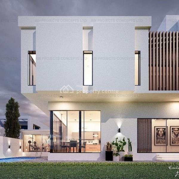 Luxury 5 Bedrooms Fully Detached Home, Pinnock Beach Estate, Jakande, Lekki, Lagos, Detached Duplex for Sale