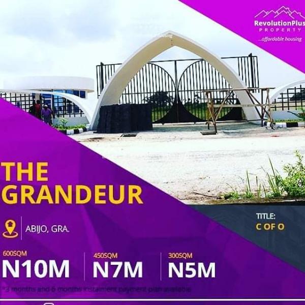 The Grandeur, Abijo, Lekki, Lagos, Mixed-use Land for Sale