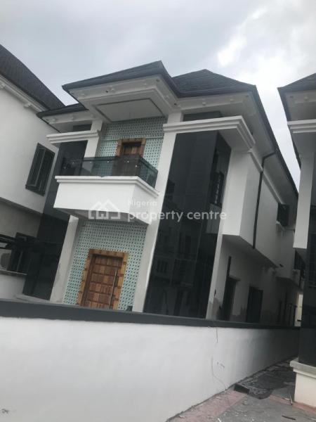 Newly Completed 5 Bedroom Fully Detached Duplex with a Room Bq, Osapa, Lekki, Lagos, Detached Duplex for Sale