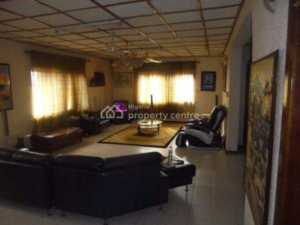Well Finished 3 Bedroom Bungalow with 2 Bedroom Flat, Oroleye Street Off Abel Oreniyi Street Awuse Estate, Opebi, Ikeja, Lagos, Detached Bungalow for Sale