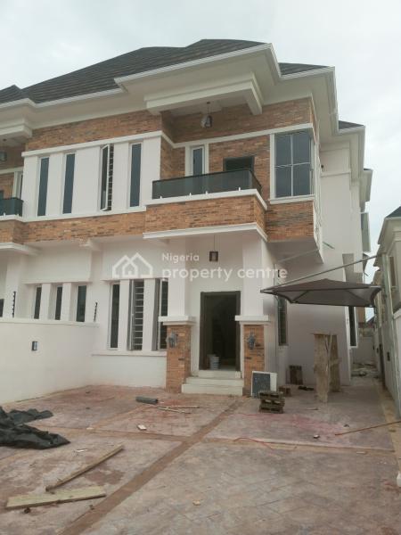 Spacious Newly  4 Bedroom Duplex Duplex with Bq, Chevy View Estate, Lekki, Lagos, Detached Duplex for Rent