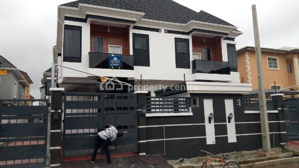 Brand New and Exquisitely Finished 4 Bedroom Duplex, Lekki, Lagos, Semi-detached Duplex for Rent