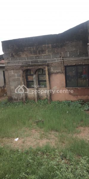 a Bungalow of 3 Bedroom Flat   with Constant Light, Ologundudu Street Aboru, Ipaja, Lagos, Detached Bungalow for Sale