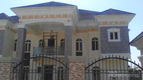 For rent newly built 6 bedroom fully detached duplex with for Duplex house plans with swimming pool