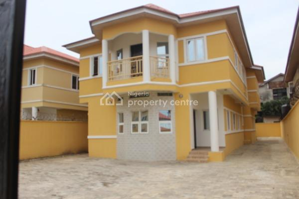 Tastefully 4 Bedroom Fully Detached House with 2 Bq for Rent at Admiralty Estate, Alpha Beach Road N2.5m, Alpha Beach Road, Admiralty Estate, Lekki Phase 2, Lekki, Lagos, Detached Duplex for Rent