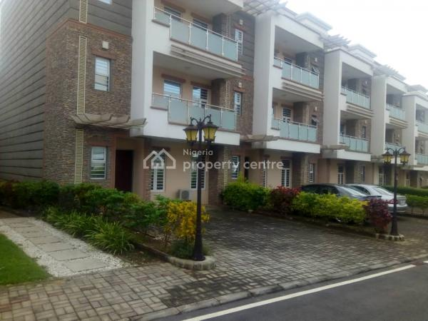 Serviced 4 Bedroom Terraced Duplex with 1 Room Servant Quarter, Off Ademola Adetokunbo, Wuse 2, Abuja, Terraced Duplex for Rent