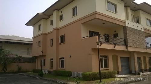 Exquisitely Finished Serviced 5 Bedroom Terraced Duplex With Boys Quarters Plus Pool Gardens