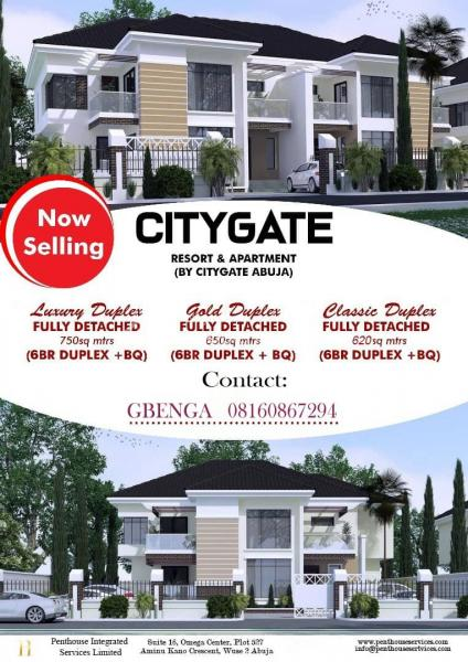 Well Located and Govt Approved Estate, City Gate Opp House on The Rock Church, Kukwuaba, Abuja, Residential Land for Sale