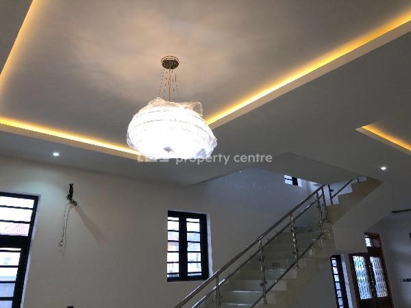 5 Bedroom with 2 Bq and Pool, Fola Oshibo, Lekki Phase 1, Lekki, Lagos, Detached Duplex for Sale