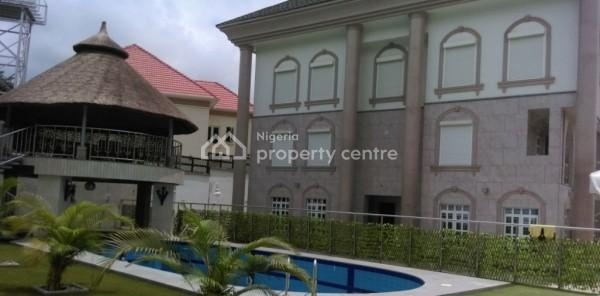 a Brand New Fully Furnished Super Luxury 7 Bedroom Mansion with Basement and Other Top Notch Features, Maitama District, Abuja, Detached Duplex for Sale