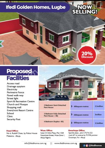 Estate Land, Lugbe, Lugbe District, Abuja, Residential Land for Sale