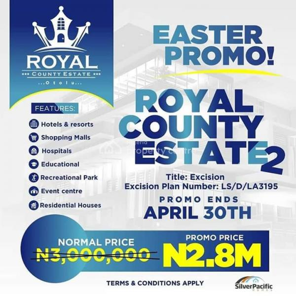 Prime Plots of Land for Sale at Royal County Estate, 3 Minute Away From La Campaign Tropicana, Ogogoro, Ibeju Lekki, Lagos, Residential Land for Sale