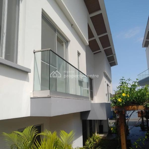 Superbly Finished Service 3 Bedroom Terrace Duplex, Banana Island, Ikoyi, Lagos, Terraced Duplex for Rent