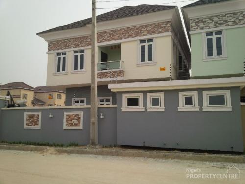 Brand New And Nicely Finished 5 Bedroom Detached House With Boys Quarters Lekki Lagos