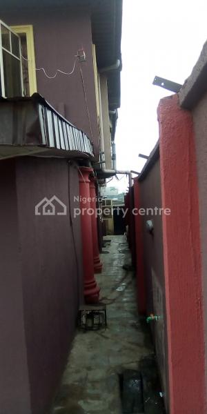 a Solid House with 9 Units of 1 Bedroom Apartment, Off Fafunwa,isale-odo, Boys Town, Ipaja, Lagos, Block of Flats for Sale
