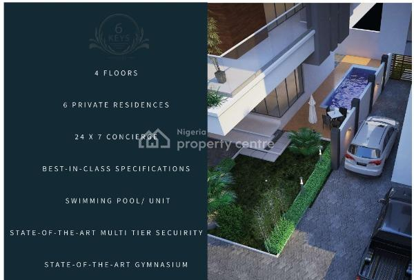 Six Units of Super-luxury 5-bedroom Detached Houses in The 6-keys Project, Old Ikoyi!, Ilabere, Old Ikoyi, Ikoyi, Lagos, Detached Duplex for Sale
