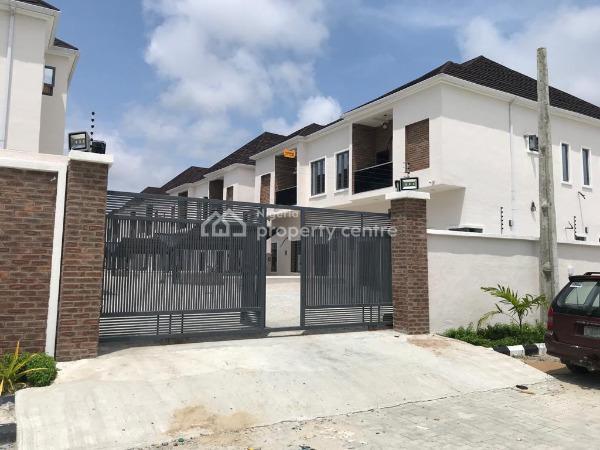 Newly Built & Fully Serviced 4 Bedroom Semi Detached Duplex with Bq, Mega Chicken, Ikota Villa Estate, Lekki, Lagos, Semi-detached Duplex for Sale