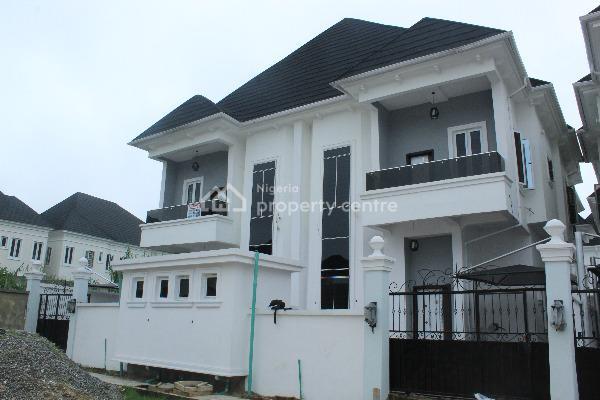 Brand New 4 Bedroom Semi Detached Duplex with a Room Bq, Chevy View Estate, Lekki, Lagos, Semi-detached Duplex for Sale