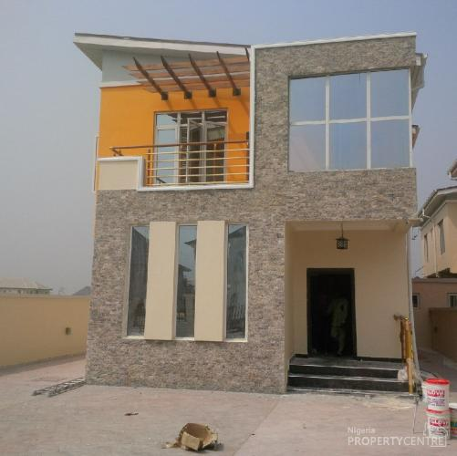 Brand New And Superbly Fininshed 5 Bedroom Detached House With Boys Quarters Swimming Pool